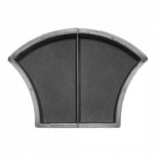 Molds Scales (shagreen) halves 2×116×168×45 VSV Ukraine 1pc.