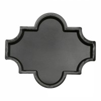 Molds The Clover (smooth) 270х225х45 VSV Ukraine 1pc.
