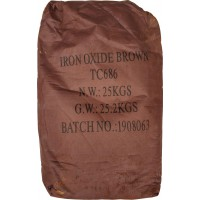 Iron oxide pigment Tongchem ТС 868 (Brown) China dry bag 25 kg