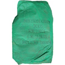Iron oxide pigment Tongchem TS 835 (Green) China dry bag 25 kg