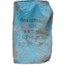 Iron oxide pigment Tongchem TC 886 (Blue) China dry bag 25 kg