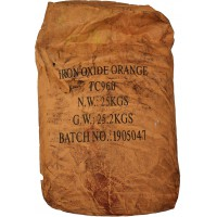 Iron oxide pigment Tongchem TS 960 (Orange) China dry bag 25 kg
