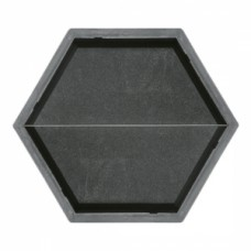 Molds The Hexagon (longitudinal half)  2х205×88×45 мм VSV Ukraine 1pc.