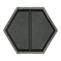 Molds The Hexagon (half transverse)  2х178×101×45 VSV Ukraine 1pc.