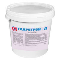 Гидроизоляция бетона ГИДРОТРОН-Д