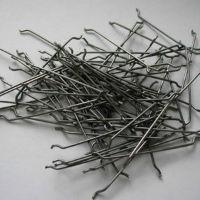 Fiber anchor steel